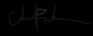 Chris Peterson signature