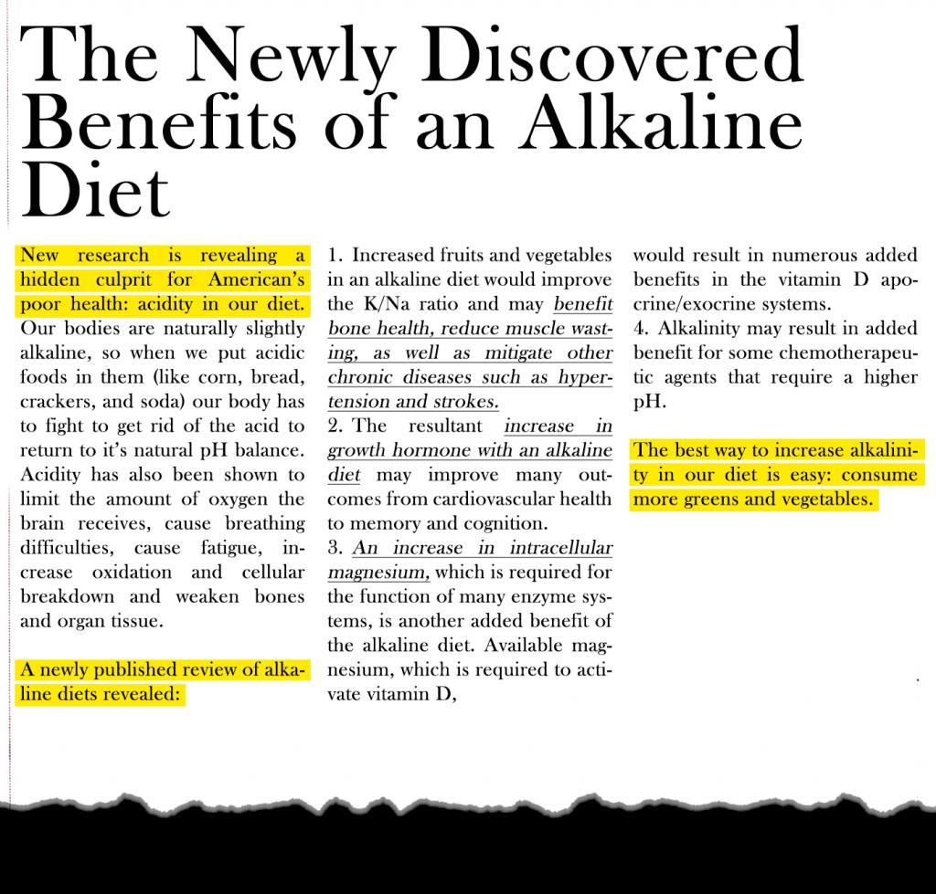 alkalinediet